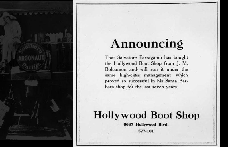 Mame Fashion Dictionary: Salvatore Ferragamo First Hollywood Store