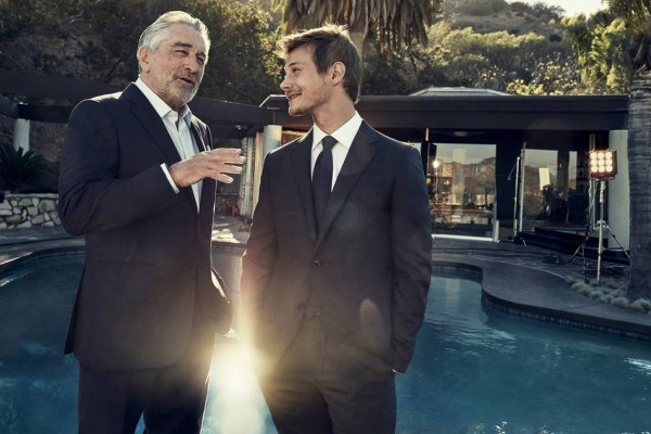 "Mame Fashion Dictionary: Robert De Niro and McCaul Lombardic the ""Defining moments"" Campaign 2017"