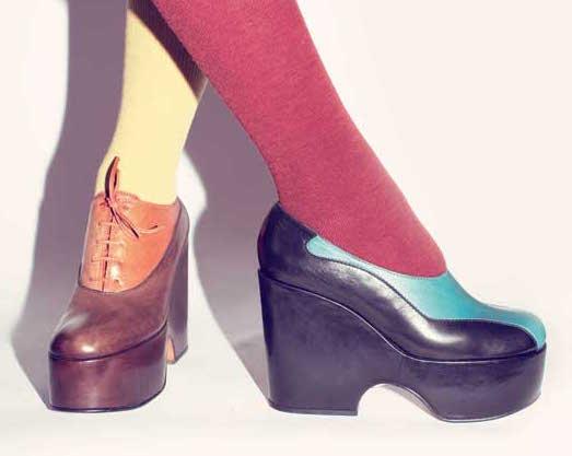 Mame Fashion Dictionary: Casadei Shoes Fall 1971 Campaign