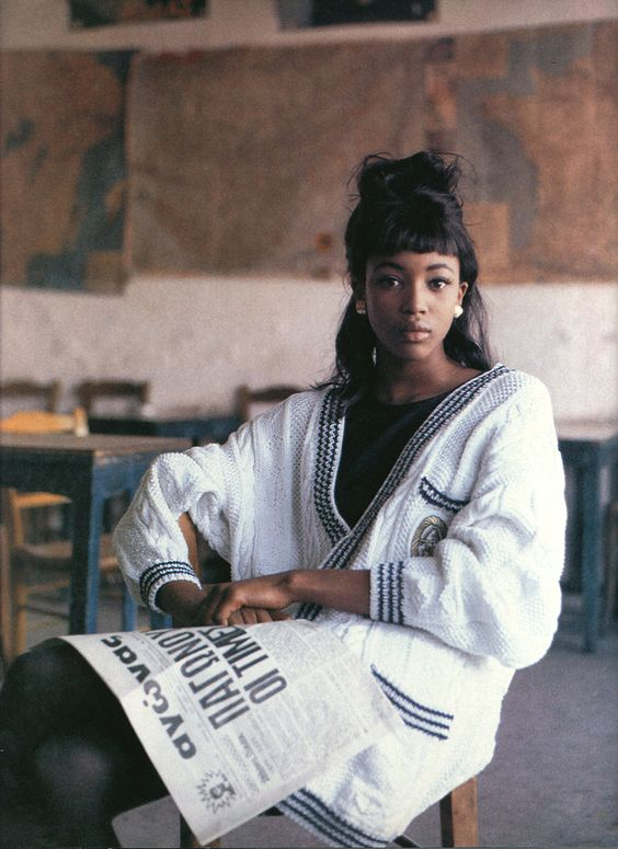 Mame Fashion Dictionary: Naomi Campbell Young Naomi