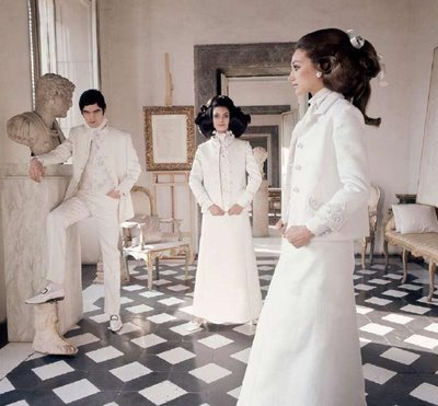Mame Fashion Dictionary: Valentino 1968 White Collection