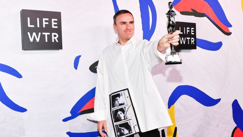Mame Fashion Dictionary: Raf Simons CFDA Award