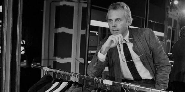 Giorgio Armani in the Store 1970s