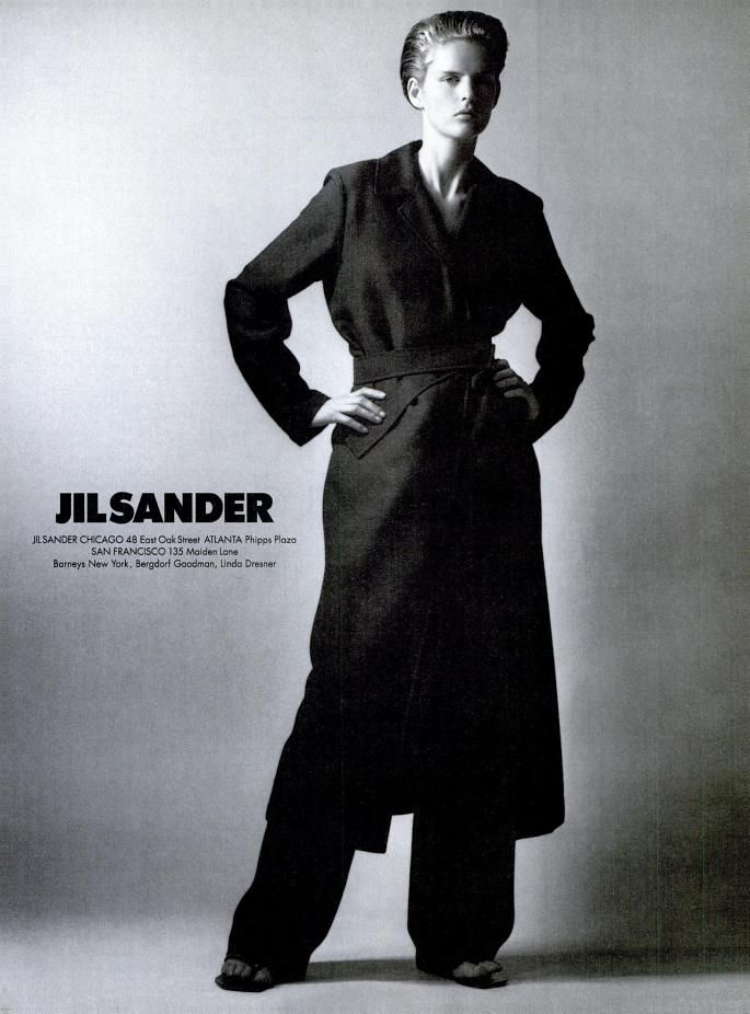 Spring/Summer 1977 Campaign Featuring Stella Tennant. Photographed By David Sims
