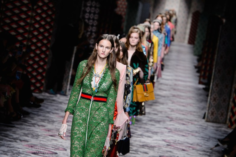 Alessandro Michele First Collection Spring/Summer 2016