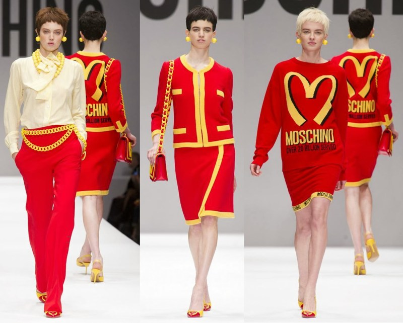 Moschino Jeremy Scott 2014