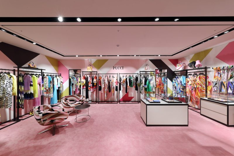 Emilio Pucci Boutique in Seoul, Korea