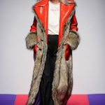 Marco Rambaldi Over Coat With Faux Fur Collar