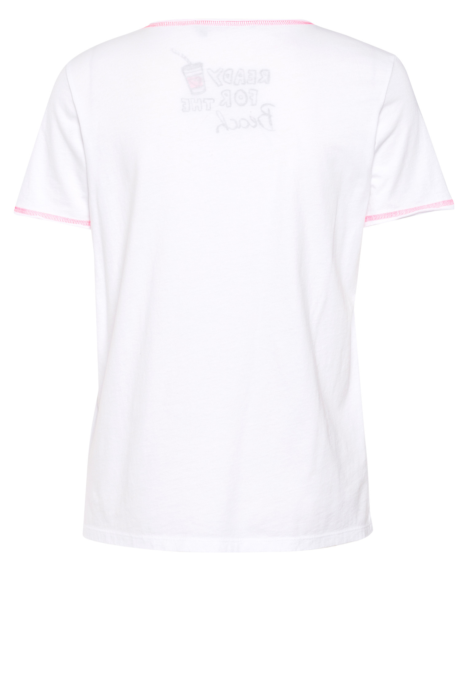 Print T Shirt With Glitter Details