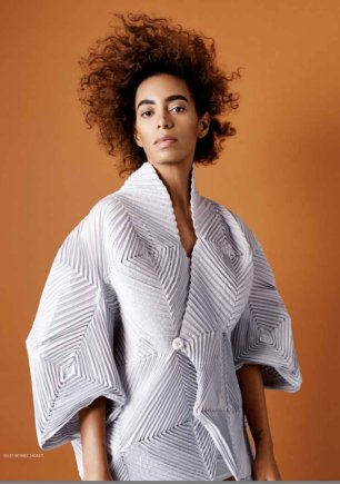 SOLANGE for Bust Magazine, Mar. 2017 8