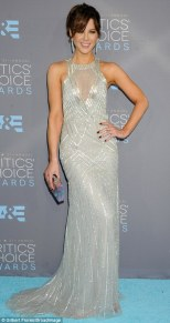 Kate Beckinsale Dressed in Monique Lhuillier