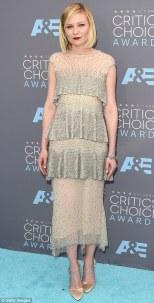 Kirsten Dunst in Karl Lagerfeld