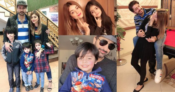 Latest Beautiful Pictures of Syed Jibran with his Family