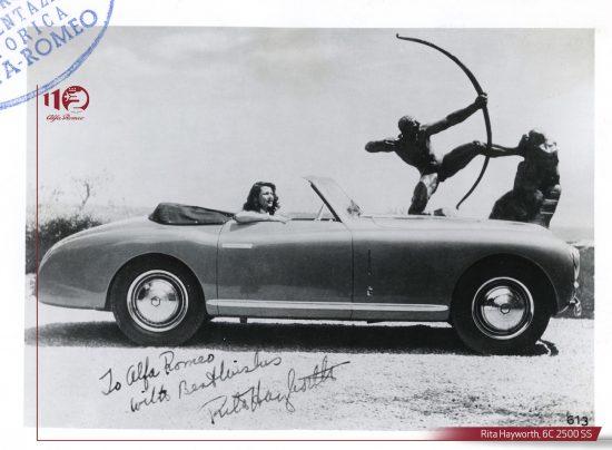 Rita Hayworth, 6C 2500 SS
