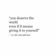 deserve world