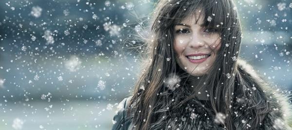 Грамотный уход за волосами зимой