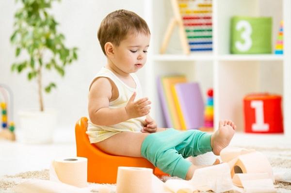 Если кишечник малыша «ленится»