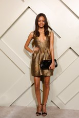 Malaika Firth wearing Burberry at the Burberry event celebrating London in Shanghai, 24 April 2014 f8
