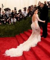 MET Gala 2015 Kim Kardashian Roberto Cavalli GI