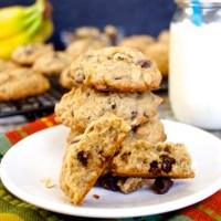 Banana Nut Chocolate Chip Cookies