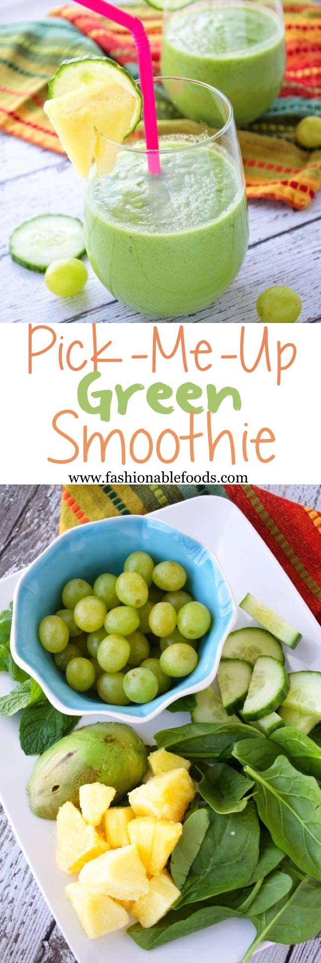 Green Smoothie Pin