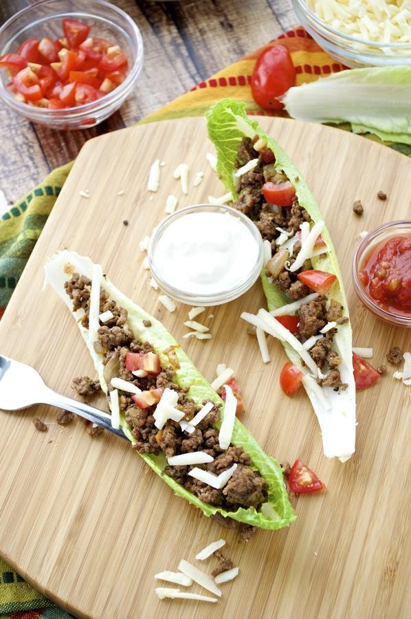 Lettuce Boat Tacos
