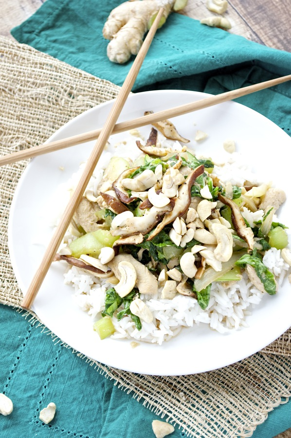 Chicken and Bok Choy Stir Fry