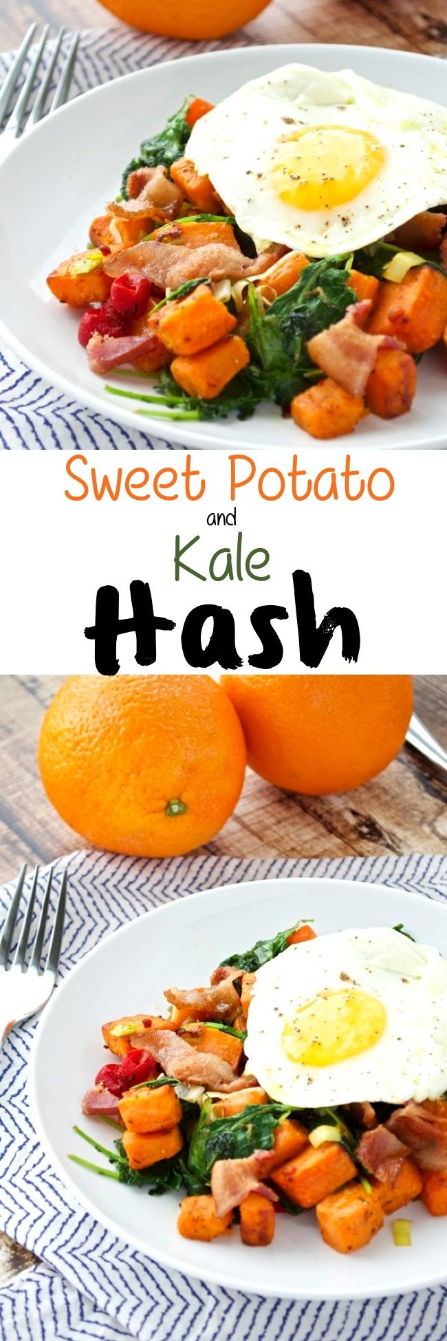Sweet Potato Kale Hash Pin