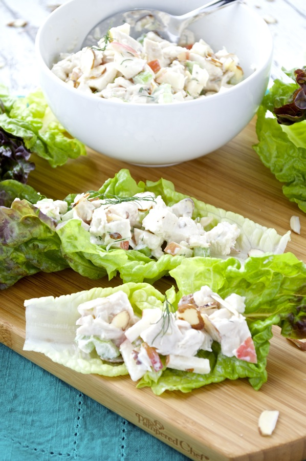 Chicken Salad with Almonds and Apples