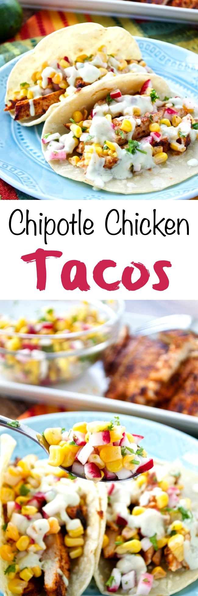 Chipotle Chicken Tacos Pin