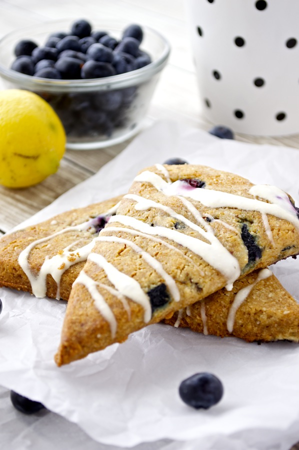 Paleo Blueberry Scone