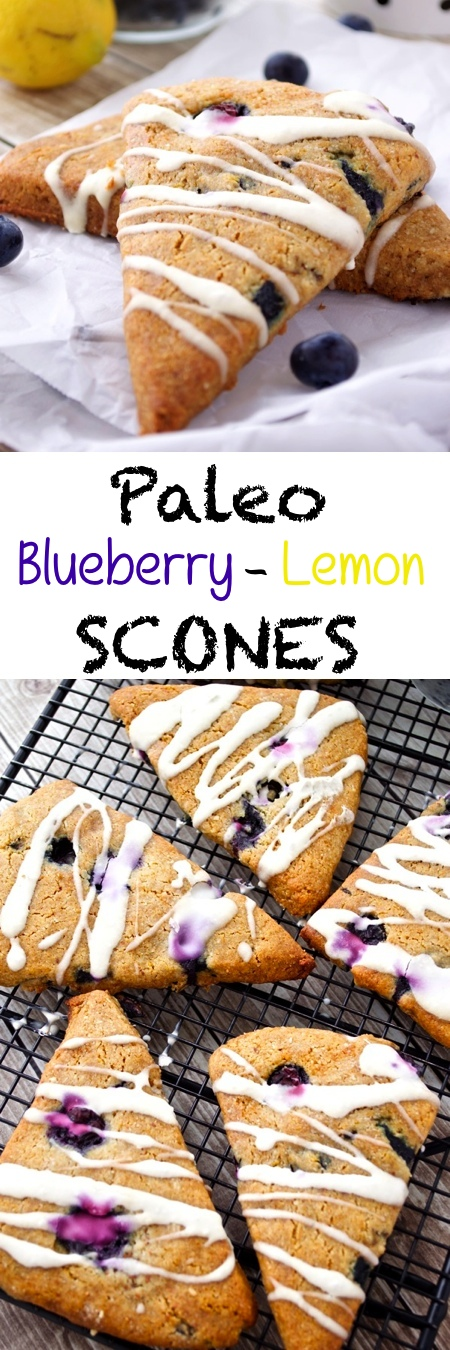 Paleo Blueberry Scones Pin
