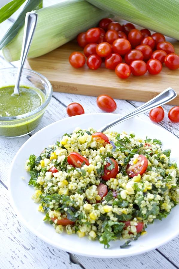 Corn and Tomato Quinoa Salad