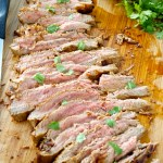 Carne Asada with Roasted Salsa Verde