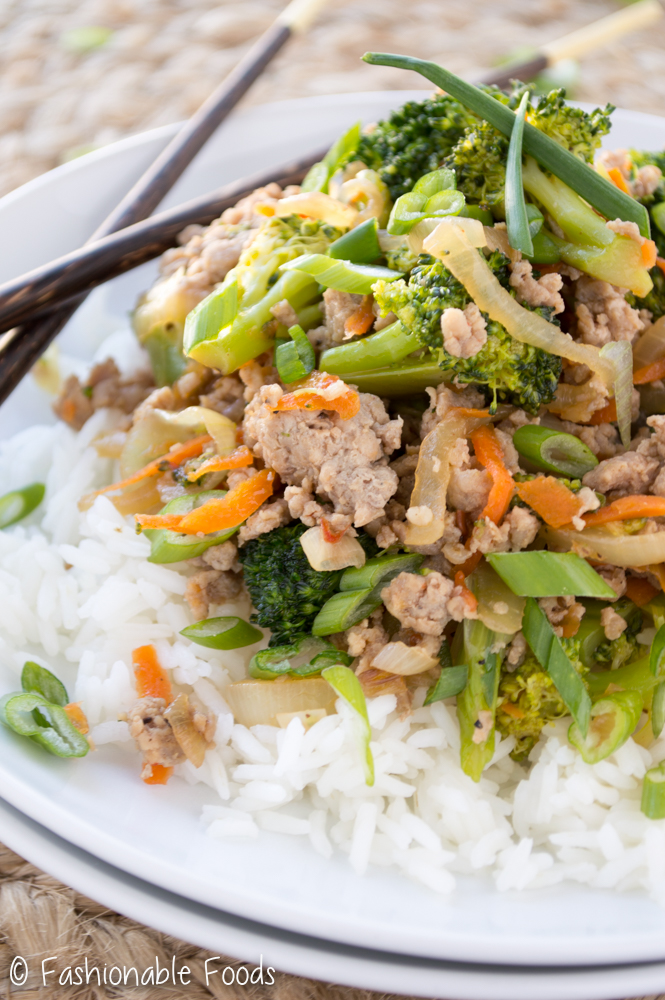 Turkey Broccoli Stir Fry