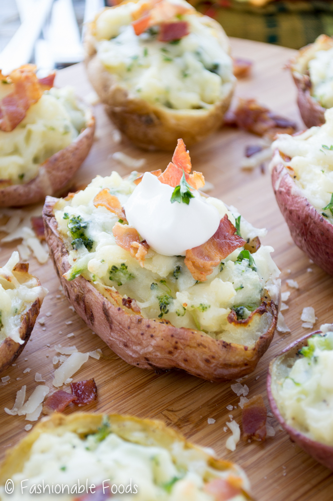 Loaded Twice Baked Potato_