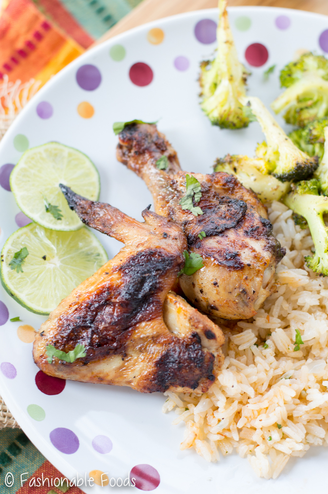 Chili Citrus Grilled Chicken Pieces
