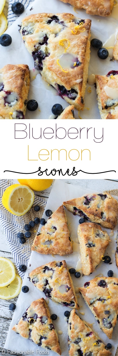 Blueberry Lemon Scones Pin