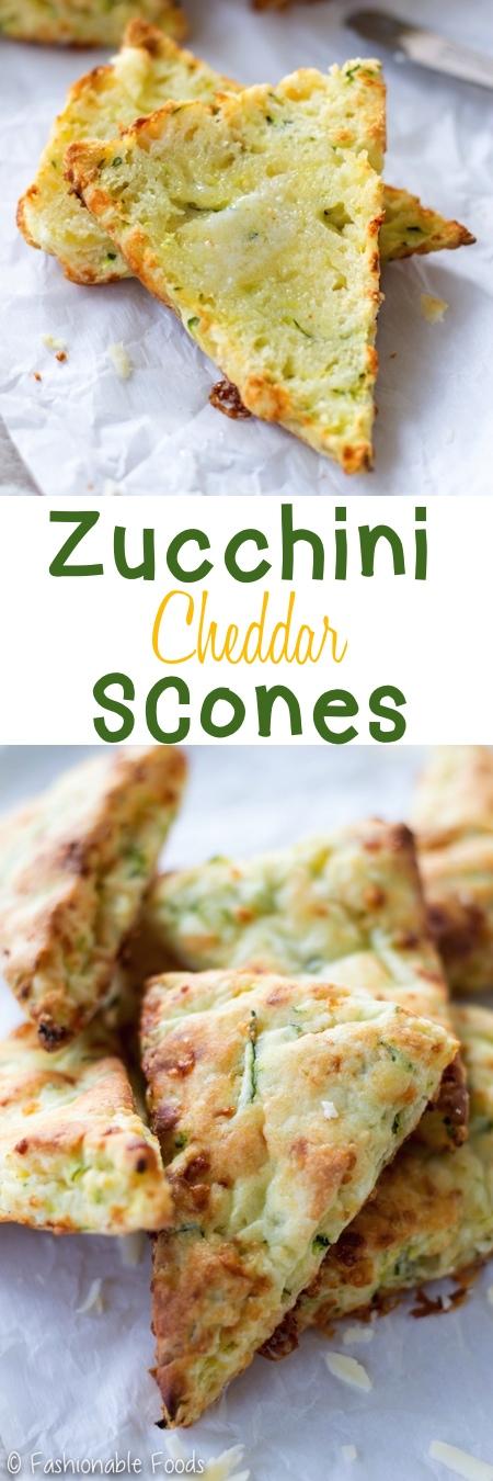 Zucchini Cheddar Scones Pin
