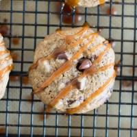 Caramel Mocha Cookies