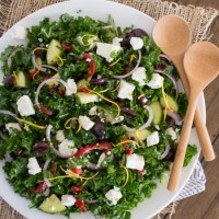 Greek Kale Salad