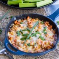 Spicy Buffalo Chicken Fundido