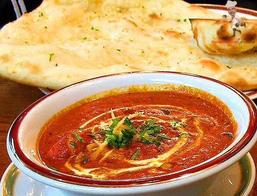 Butter Chicken at Cafe Noorani