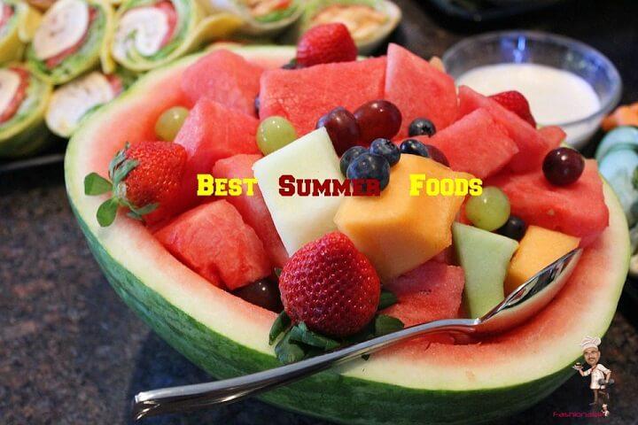 Best Summer Foods List