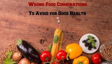 Wrong Food Combinations