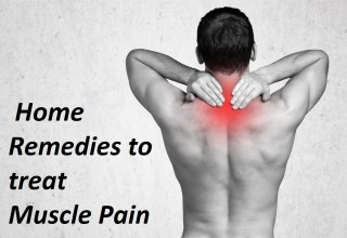 home remedies for muscle pains