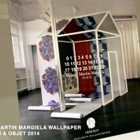 MAISON MARTIN MARGIELA Wallpapers launched @ Maison & Objet 2014