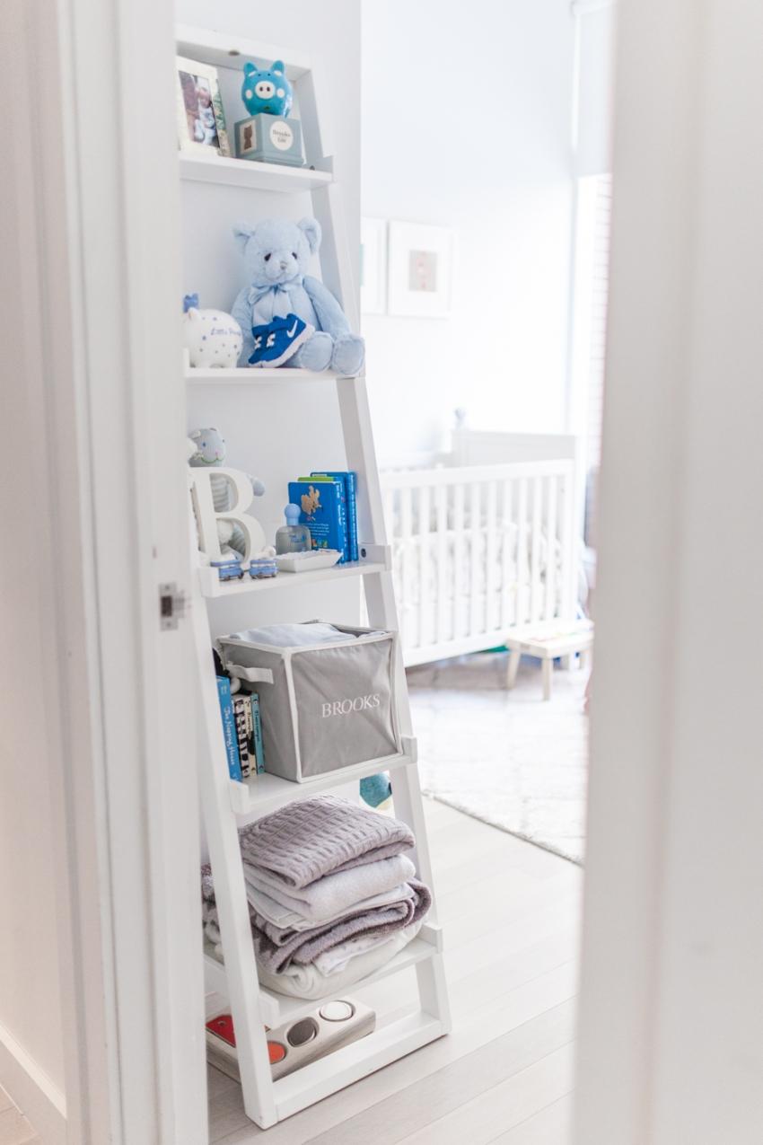 nursery shelves fashionable hostess
