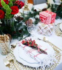 Christmas Table: Three Table setting Ideas - Fashionable ...