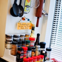 Kitchen Essentials From Calphalon Stainless Steel Shelves For Organize Your Spice Rack - Fashionable Hostess